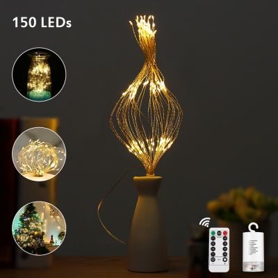 2PCS LH - BOM - YHD150WW 150-LED Dimmable Starburst String Lamps for Decor