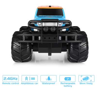 yed YED1601 Amphibious Off-road Vehicle Rechargeable Car Toy Remote Control