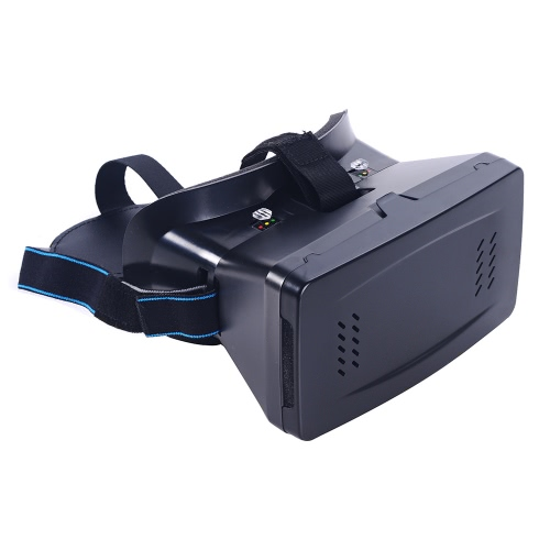 Portable Head-Mounted Google Cardboard Version 3D VR Glasses Virtual Reality DIY 3D VR Video with Magnetic Switch Movie Game 3D Glasses with CSY-01 Mini Multifunctional Wireless BT V3.0 Selfie Camera Shutter Gamepad for iPhone Samsung / All 3.5 ~ 6.0 Smar