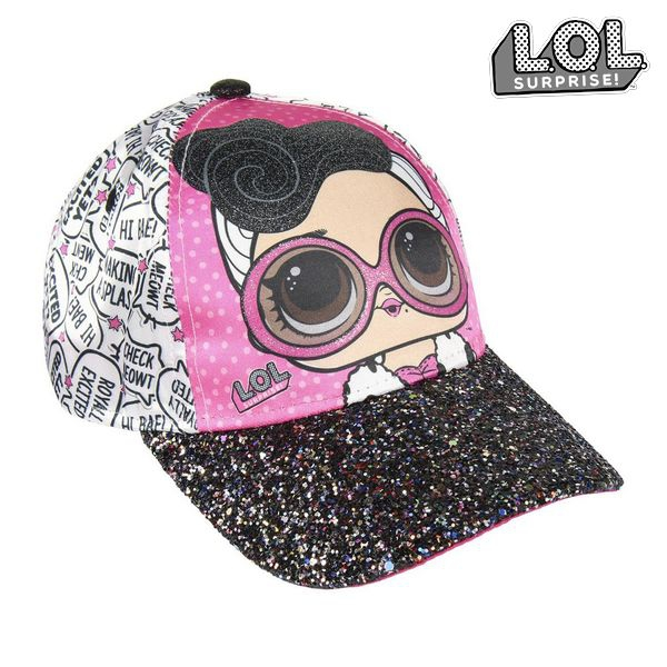 Child Cap LOL Surprise! 74090 (54 cm) White Pink