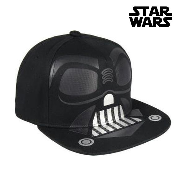 Child Cap Star Wars 0981 Negro (58 cm)