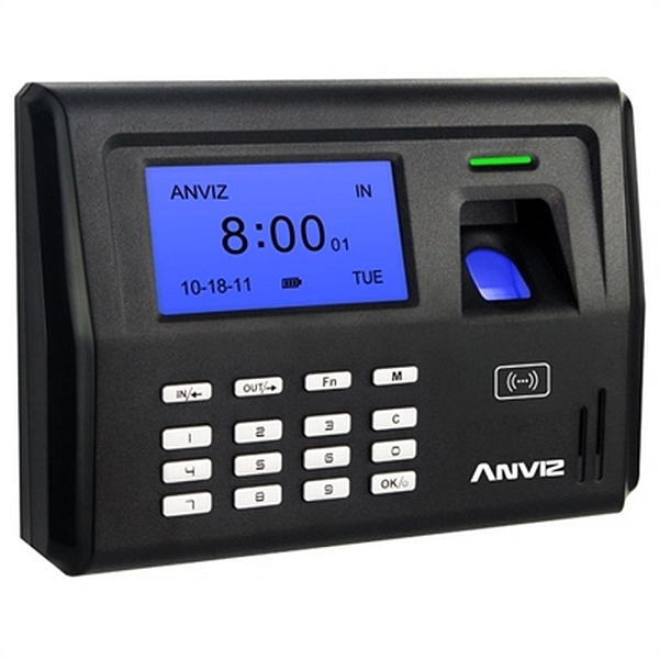 System for Biometric Access Control POSIFLEX EP300 LCD 500 dpi Black