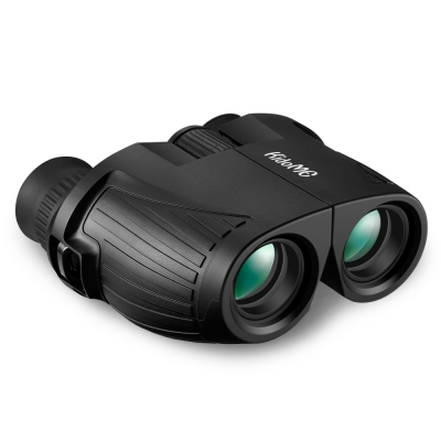 KIDOME 10x25 HD Mini Binoculars Premium BAK4 Lens Wide Angle Viewing Best Gift for Kids / Adults