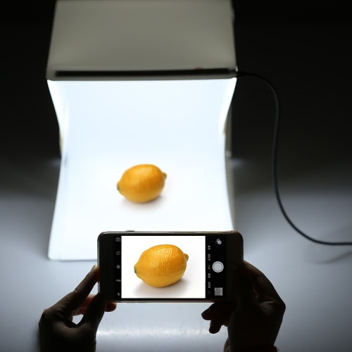 Foldable Portable Mini Photography LED Lightbox Studio