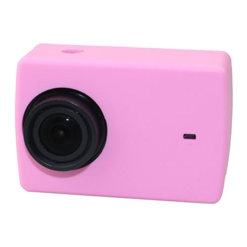 YI 4K Action Camera Soft Silicone Protective Cover Case for Xiaoyi YI 4K+ / YI 4K  - Pink