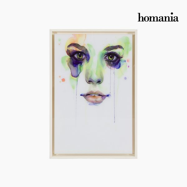 Acrylic Painting (42 x 4 x 62 cm) by Homania