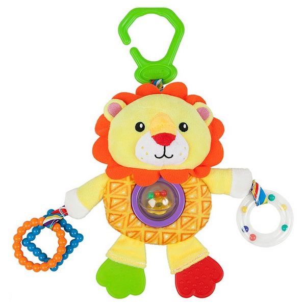 Activity Soft Toy for Babies Nenikos Lion +3m 112238