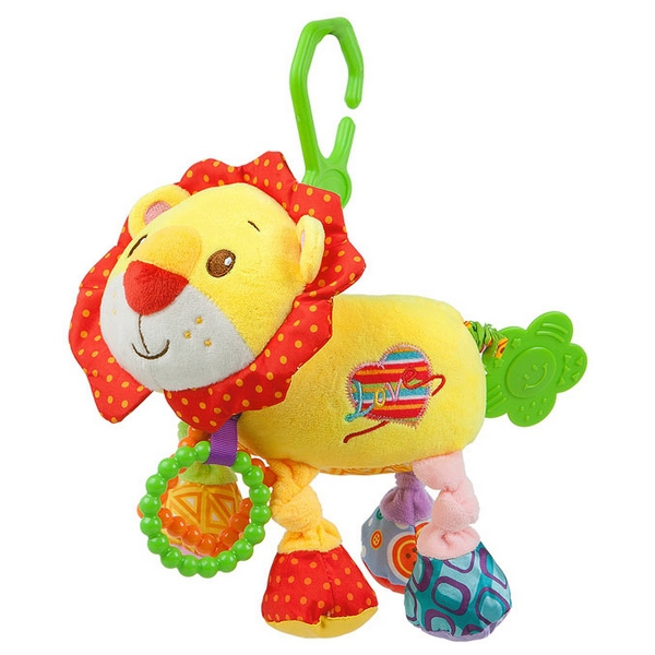 Activity Soft Toy with Vibration Nenikos Lion +3m 112207