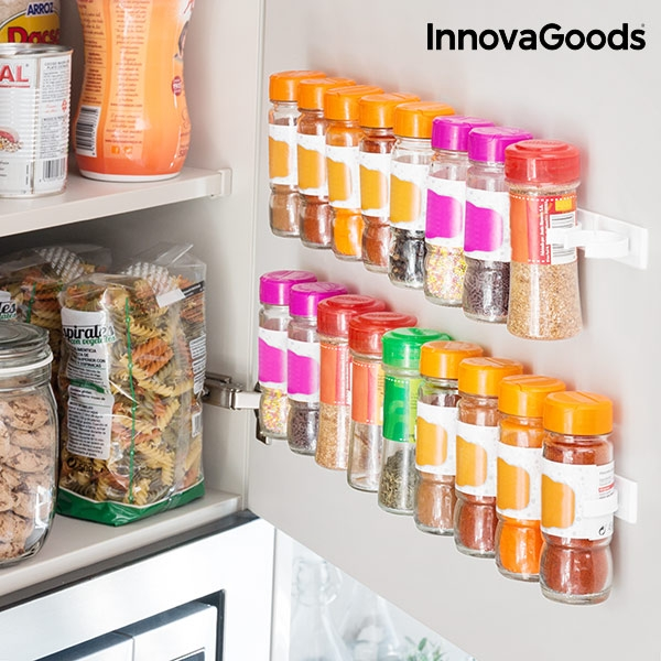 Adhesive and Divisible Spice Organiser Spicer X20 InnovaGoods