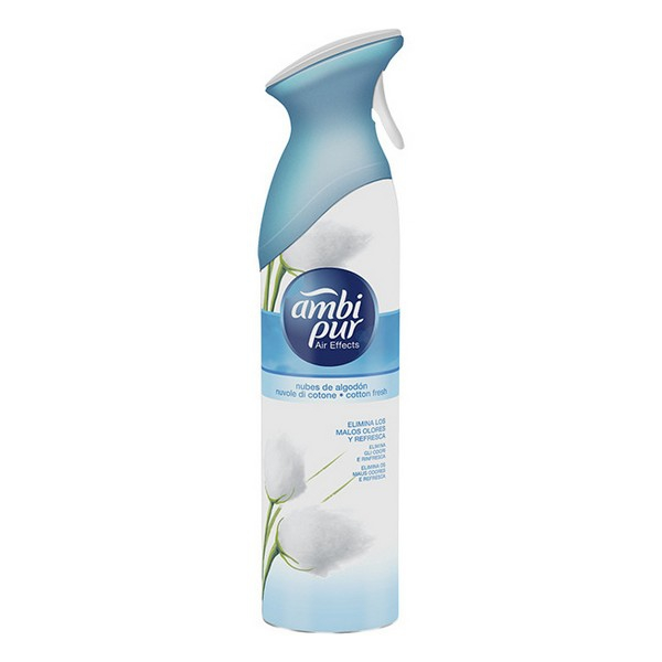 Air Freshener Spray Air Effects Cotton Fresh Ambi Pur (300 ml)