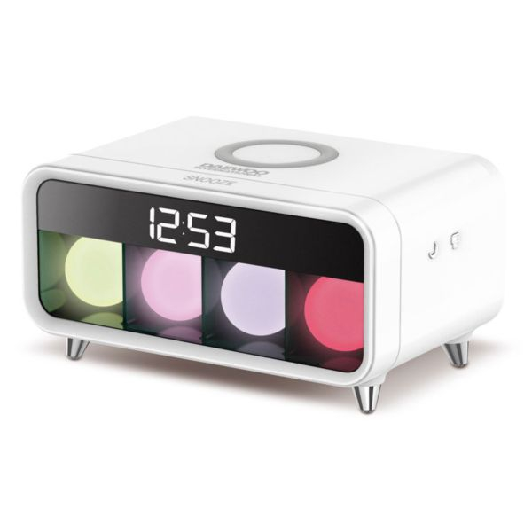 Alarm Clock Daewoo DCD-250 LED White