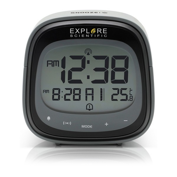 Alarm Clock Explore Scientific RDC-3006 LCD Black