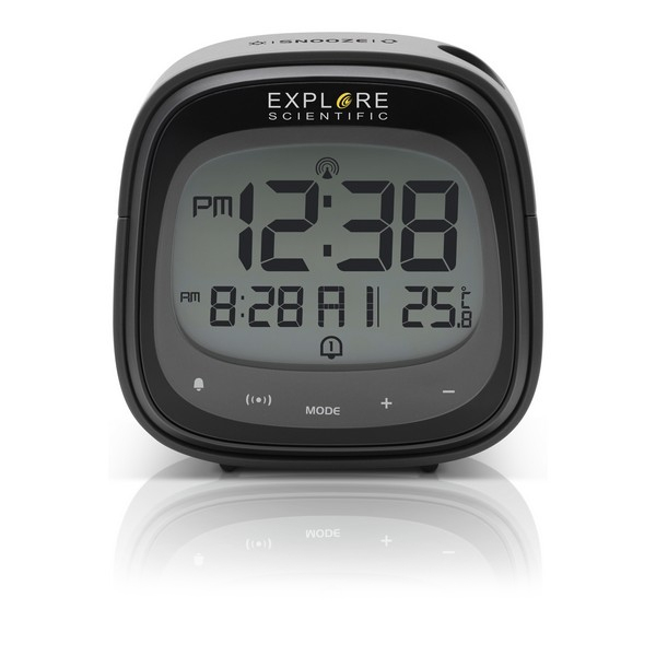 Alarm Clock Explore Scientific RDP-3007 LCD Black