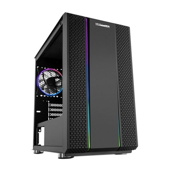 ATX Mini-tower Box Case NOX Hummer Fusion RGB LED Black