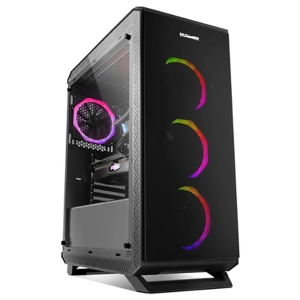 ATX Semi-tower Box NOX NXHUMMERTGF USB 3.0