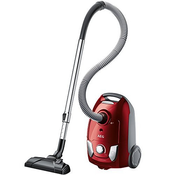 Bagged Vacuum Cleaner Aeg VX41VRA 3 L 80 dB 750W Red
