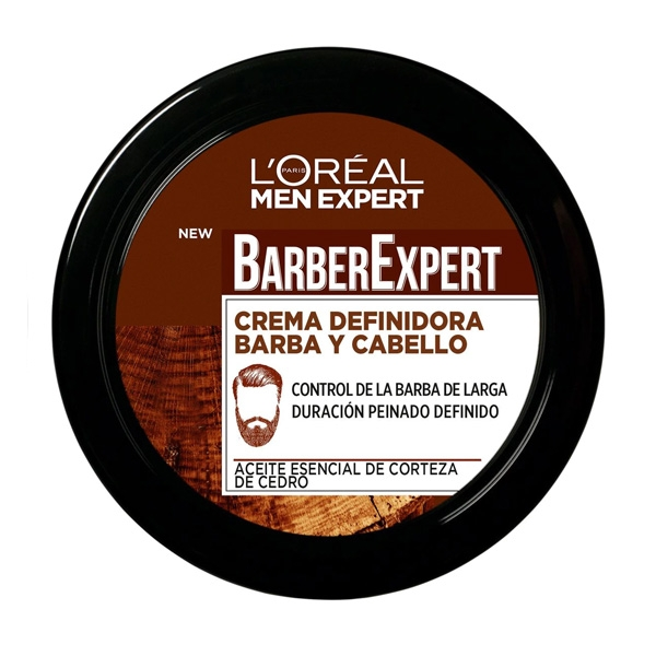 Beard Shaping Cream Barber Club LOreal Make Up (75 ml)