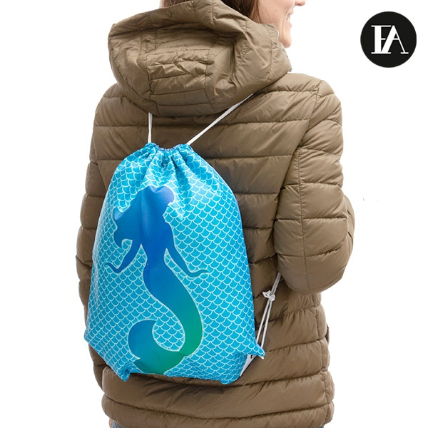 Fashinalizer Mermaid Drawstring Daysack