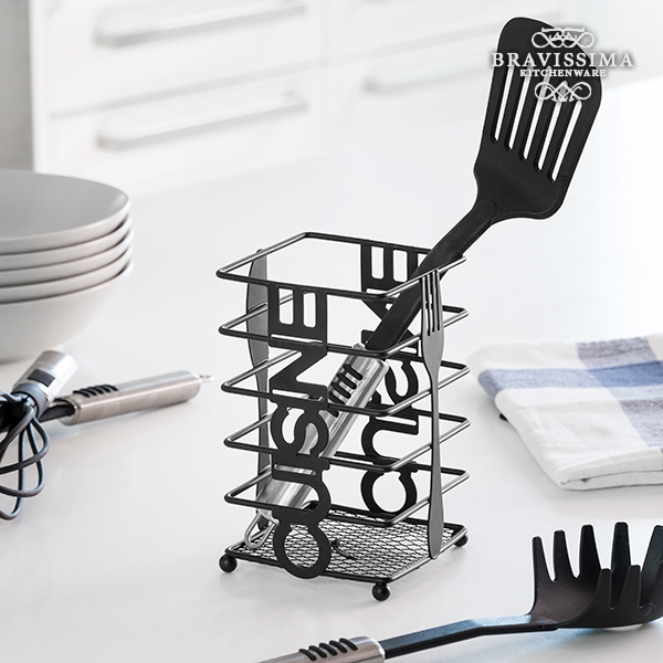 Bravissima Kitchen Cuisine Metal Cutlery Holder