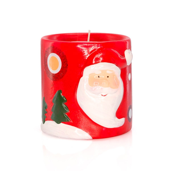 Candle Father christmas 149614
