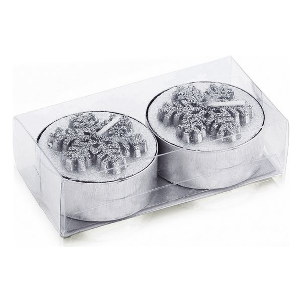 Candle Set (2 pcs) Metallic 143181