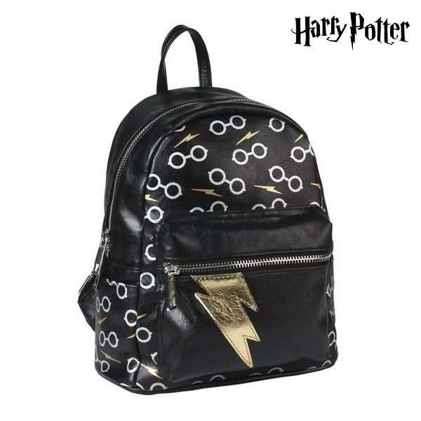 Casual Backpack Harry Potter 75629 Black