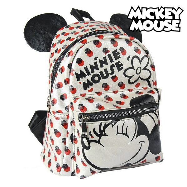 Casual Backpack Minnie Mouse 72820 White