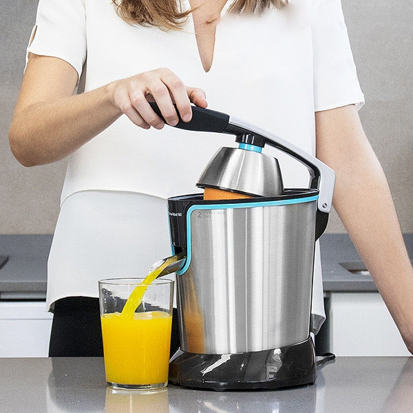 Cecotec Adjust Black 4077 Steel Electric Juicer with Handle 160W
