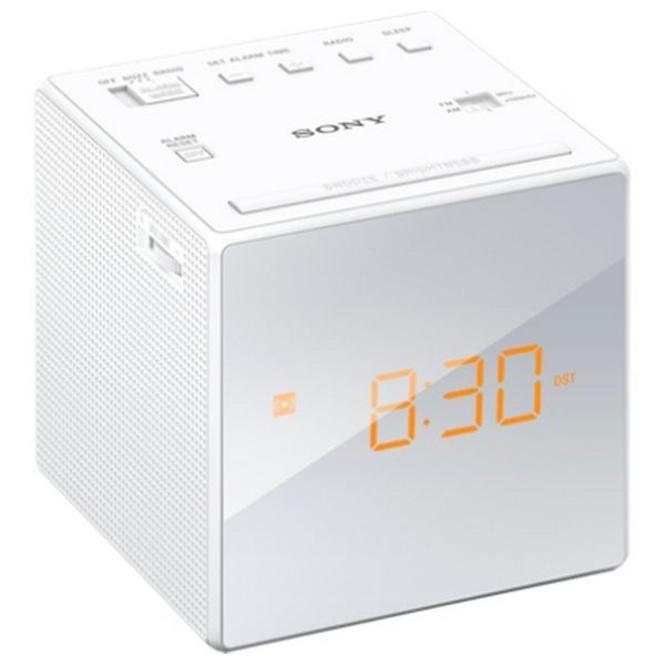 Clock-Radio Sony ICFC1W LED White