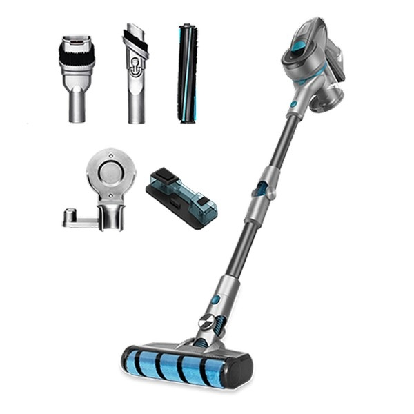Cordless Cyclonic Hoover with Brush Cecotec Rockstar 300 X-Treme ErgoWet 800 ml 24 kPa 430W Black