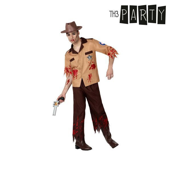 Costume for Adults Zombie police officer