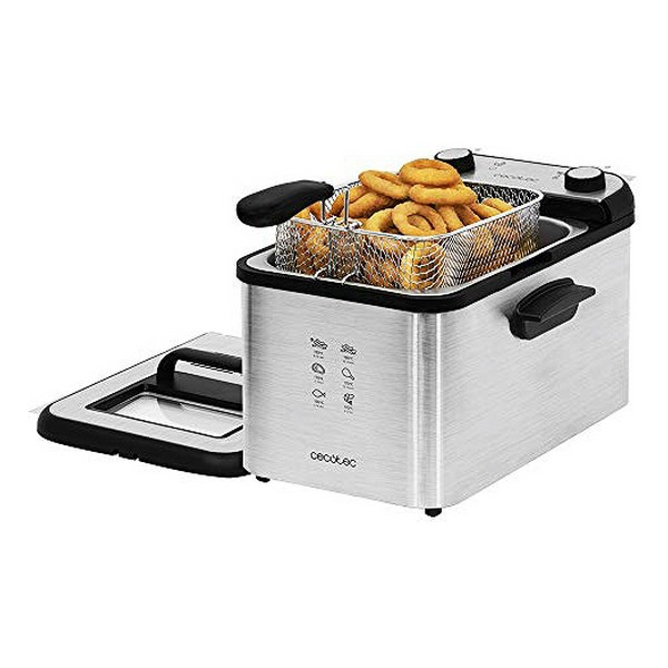 Deep-fat Fryer Cecotec CleanFry Infinity 4000 Full Inox 4 L 3270W Stainless steel