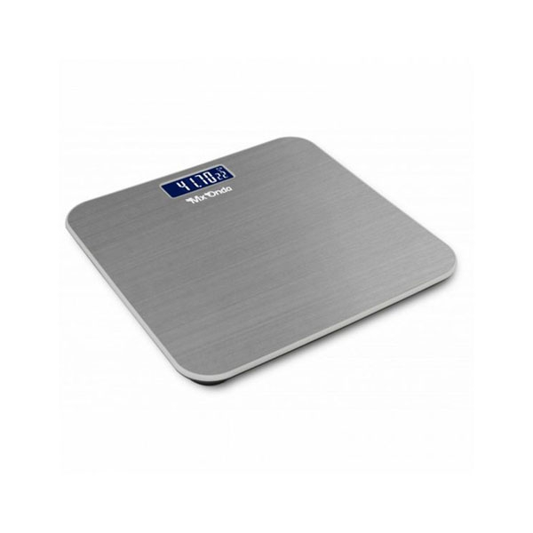 Digital Bathroom Scales Mx Onda MX-PB2440 150 Kg Stainless steel