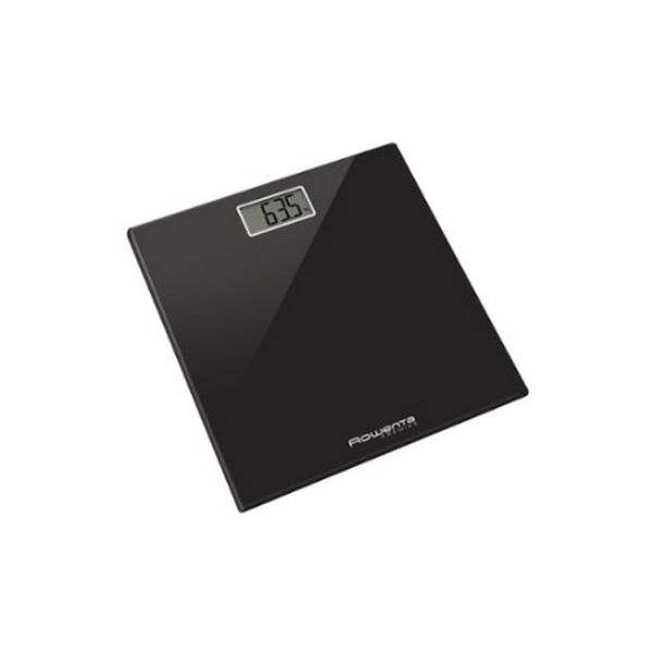 Digital Bathroom Scales Rowenta Premiss 150 Kg Black