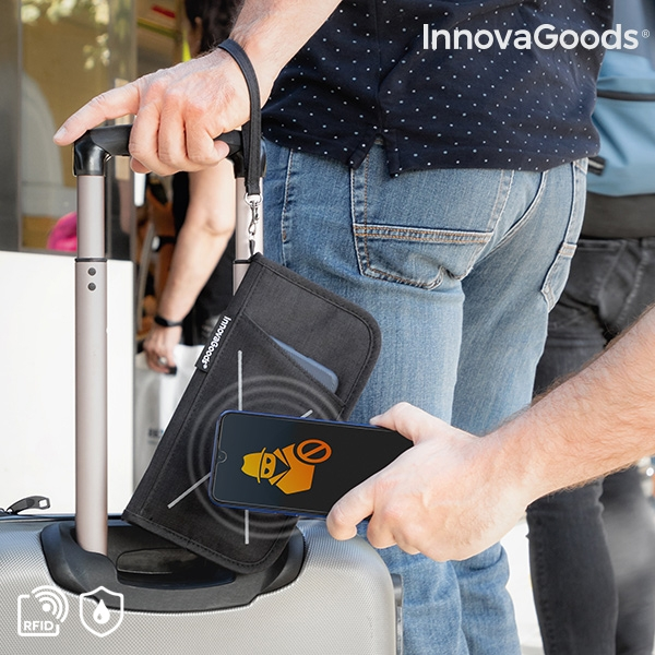 Electronic Anti-Theft Travel Case Wallock InnovaGoods