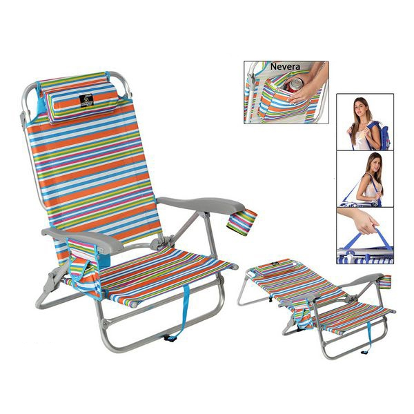 Folding Chair 118499 Aluminium Multicolour