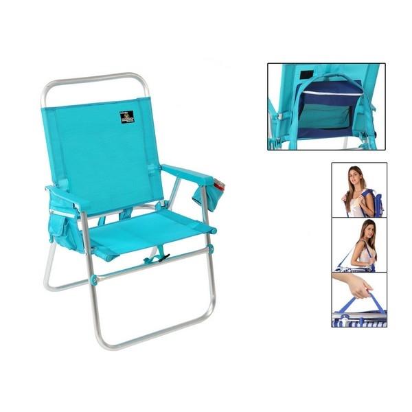 Folding Chair Blue 117489
