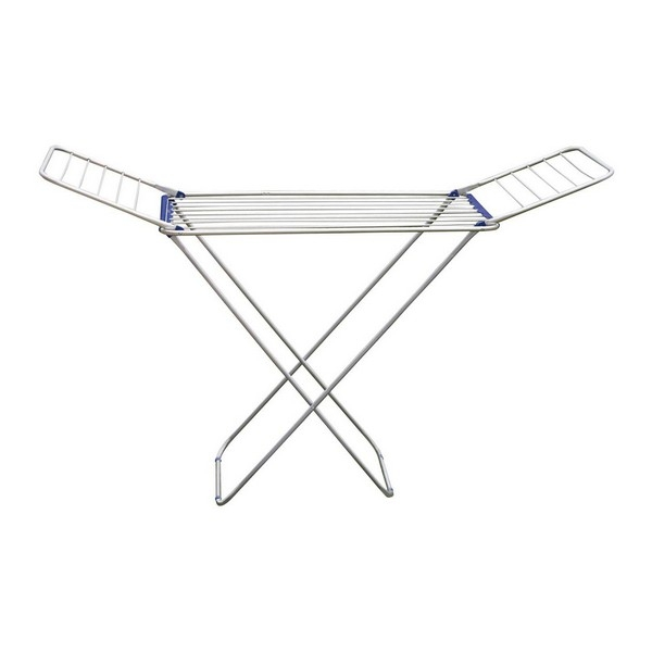 Folding clothes line Aluminium Silver (18 M)
