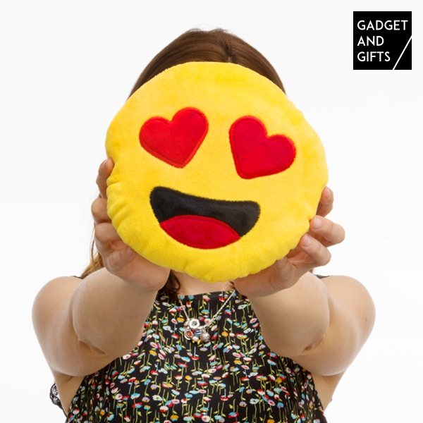 Gadget and Gifts Heart Emoticon Cushion