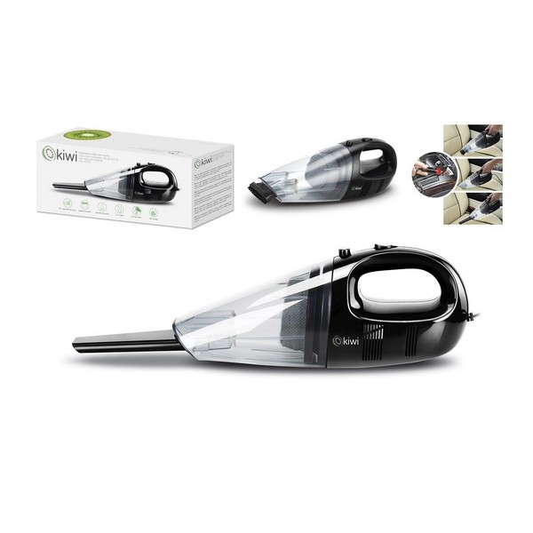 Handheld Vacuum Cleaner Kiwi KVC-4004 35W 500 ml Black