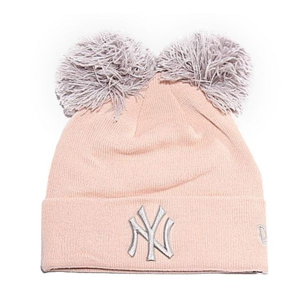 Hat Ny Yankees New Era DOUBLE POM CUFF Pink