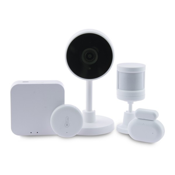 Home Automation Kit KSIX Smart Home Zigbee WiFi (5 pcs) White