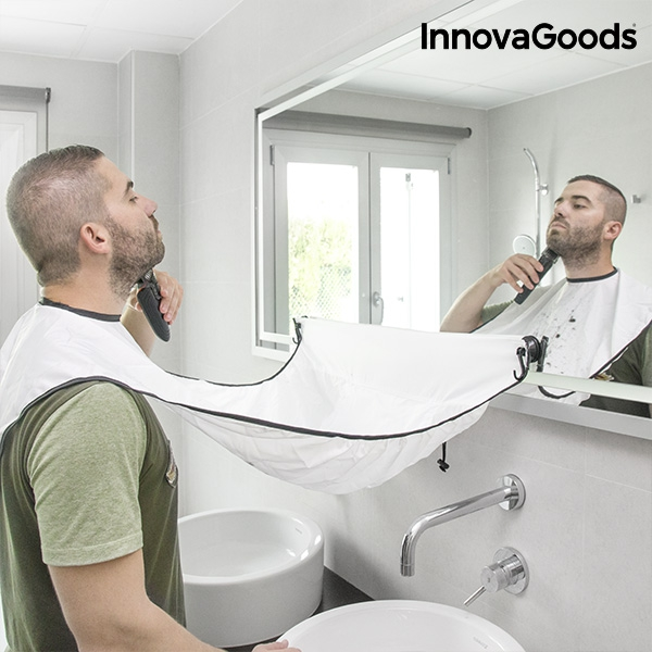 InnovaGoods Beard-Trimming Bib