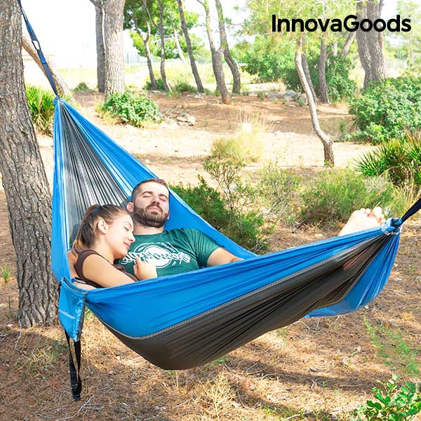 InnovaGoods Swing & Rest Double Camping Hammock