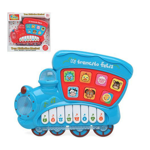Interactive Piano for Babies 110822 Musical train