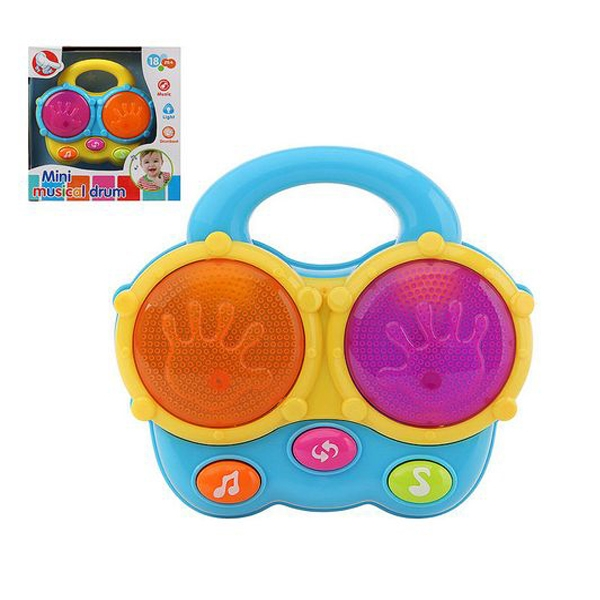 Interactive Toy for Babies Mini Musical Drum 115766