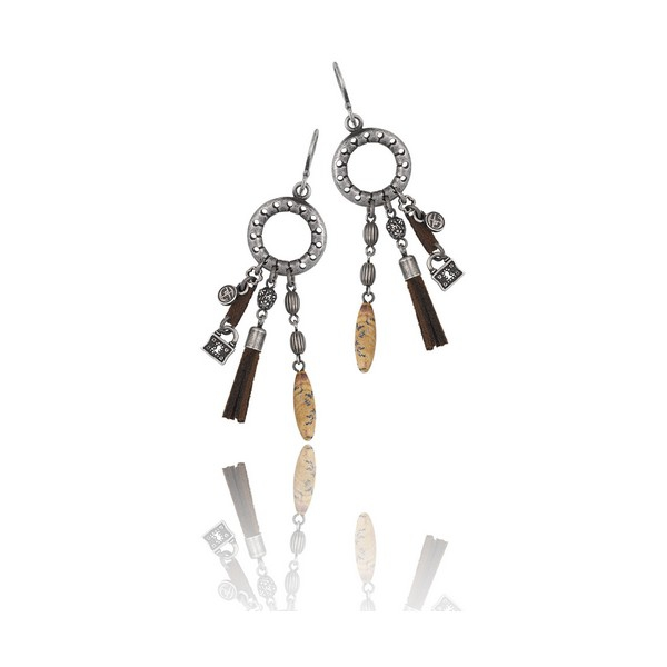 Ladies Earrings Time Force TJ1032P01