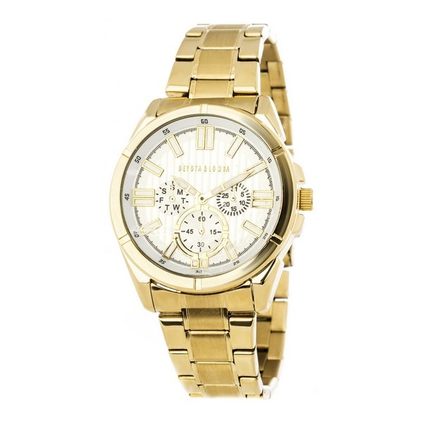 Ladies Watch Devota & Lomba DL005MMF-02WHITE (42 mm)