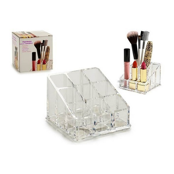 Make-up organizer (6,5 x 9 x 9 cm) Plastic