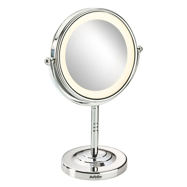 Mirror with Mounting Bracket 8435e Babyliss 8 LED